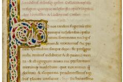 Ludovico Carbo: De divi Mathiae regis laudibus rebusque gestis dialogus,1473–1474 k. MTA Könyvtár és Információs Központ (K 397) - A párbeszéd kezdete