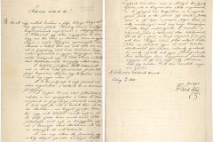 Gróf Teleki József levele, amelyben az Akadémiának ajándékozza a Carbo-corvinát MTA Könyvtár és Információs Központ, (RAL 3/1840)