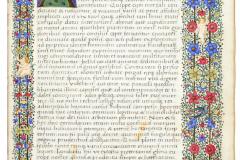 Johannes Regiomontanus: Tabulae primi mobilis, corvina – kezdő oldal Országos Széchényi Könyvtár (Cod. Lat. 412), fotókópia