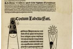 Georg Peuerbach, Johannes Regiomontanus: Epitome in Almagestum Ptolemaei / ed. Johannes Baptista Abiosus. Venezia: Johann Hamann, 31. Aug. 1496. MTA Könyvtár és Információs Központ (Inc. 424)