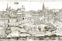 Hartmann Schedel (1440–1514): Liber chronicarum /[Hartmann Schedel]; ill. Michael Wolgemut, Wilhelm Pleydenwurff [et Albrecht Dürer]. Nürnberg: Anton Koberger, 12. Jul. 1493. MTA Könyvtár és Információs Központ (Inc. 255) Buda látképe